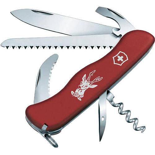 Швейцарский складной нож Victorinox Hunter 08873 красный
