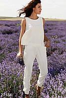 Практичный льняной костюм Gepur 27184, фото 1
