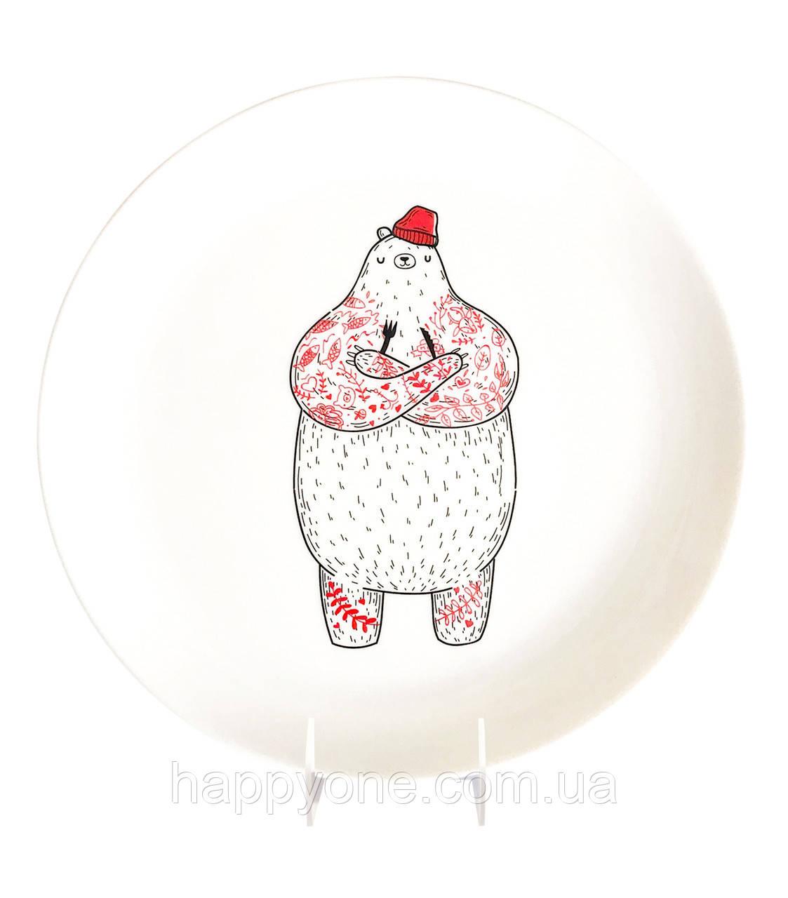 Тарелка «Голодный Мишка»