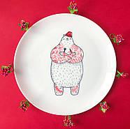 Тарелка «Голодный Мишка», фото 2