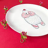 Тарелка «Голодный Мишка», фото 4