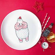 Тарелка «Голодный Мишка», фото 5