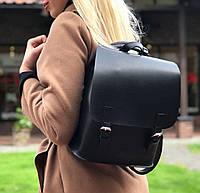 Молодежный рюкзак-трансформер черного цвета АРТ. 05, фото 1