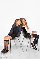 Комбинированная детская блуза Gepur 27789, фото 1