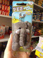 Брелок PEZ слон мягкий