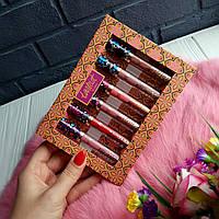 Набор жидких матовых помад Tarteist Lip Paint Matte  (реплика)
