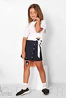 Укороченная школьная блуза Gepur 27782, фото 1
