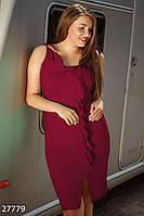 Платье с оборками Gepur 27779, фото 1