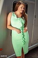 Платье с оборками Gepur 26919, фото 1