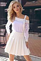 Асимметричная блуза в полоску Gepur 27774, фото 1