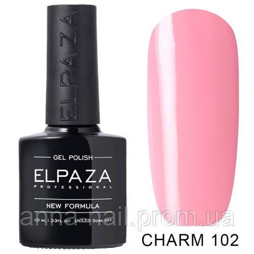Гель лак ELPAZA CHARM 102 Розовые грёзы 10 мл