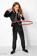 Стильный велюровый костюм Gepur 27746, фото 1