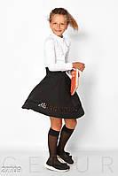 Школьная юбка с розами Gepur 27709, фото 1
