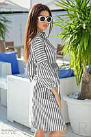 Удлиненное платье-рубашка Gepur 27708, фото 1