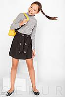 Двубортная школьная юбка Gepur 27705, фото 1