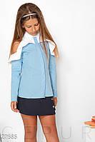 Детская хлопковая рубашка Gepur 27685, фото 1