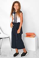 Школьные брюки-кюлоты Gepur 27683, фото 1