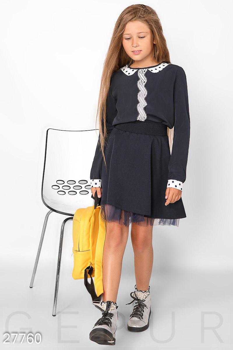 68d77f2f135 Легкая Школьная Блуза Gepur 27760 — в Категории
