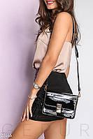 Лаковая сумка-messenger Gepur 27646, фото 1