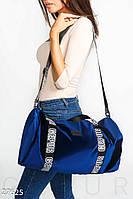 Бархатная спортивная сумка Gepur 27625, фото 1