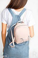 Повседневный кожаный рюкзак Gepur 27618, фото 1