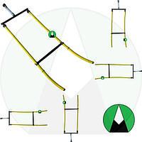 Шланг для внесения КАС двойной HARDI Agroplast - 220011   0-108/HR AGROPLAST