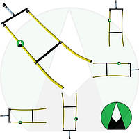 Шланг для внесения КАС двойной RAU Agroplast - 220509   0-108/07 AGROPLAST