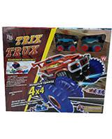 Игрушка машинка Монстр трак Trix Trux Маленький трек Monster Truk трикс тракс траки 1шт