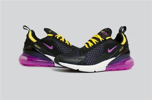 5132267f Женские кроссовки Nike Air Max 270 Flyknit D5270 черные - купить по ...