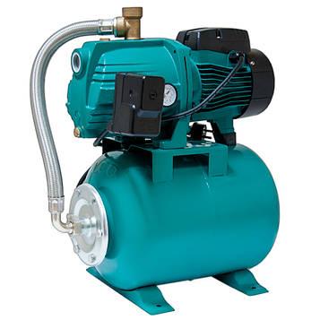 Станція водопостачання 0.75 кВт Hmax 40м Qmax 85л/хв (відцентрова самовсмоктуюча) 24л LEO 3.0 (776384)