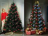 Гирлянда новогодняя Tree Dazzler (48 шариков) - светодиодная гирлянда конус, фото 2
