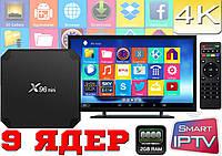 Android Smart TV, TV box, IPTV, TB/TV приставка 2 GB ОЗУ! Android 7 Хит продаж. НАСТРОЕНА
