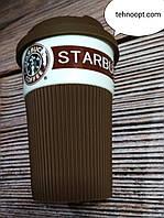Термо Чашка керамическая Starbucks, Brown, фото 1