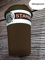 Термо Чашка керамічна Starbucks, Brown, фото 1