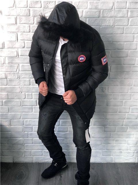 3d0555d71d2 Куртка мужская Canada Goose D5281 черная - купить по лучшей цене