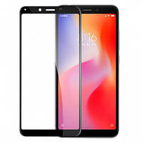 Защитное стекло Full glue (5D) Xiaomi Redmi 6 / 6A (Black)