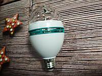 Диско Лампа  Новогодняя LED Full Color + Переходник с выключателем!