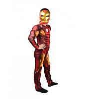 Для мальчика костюм маскарадный на утренник Тони Старк Железный человек герой Марвел