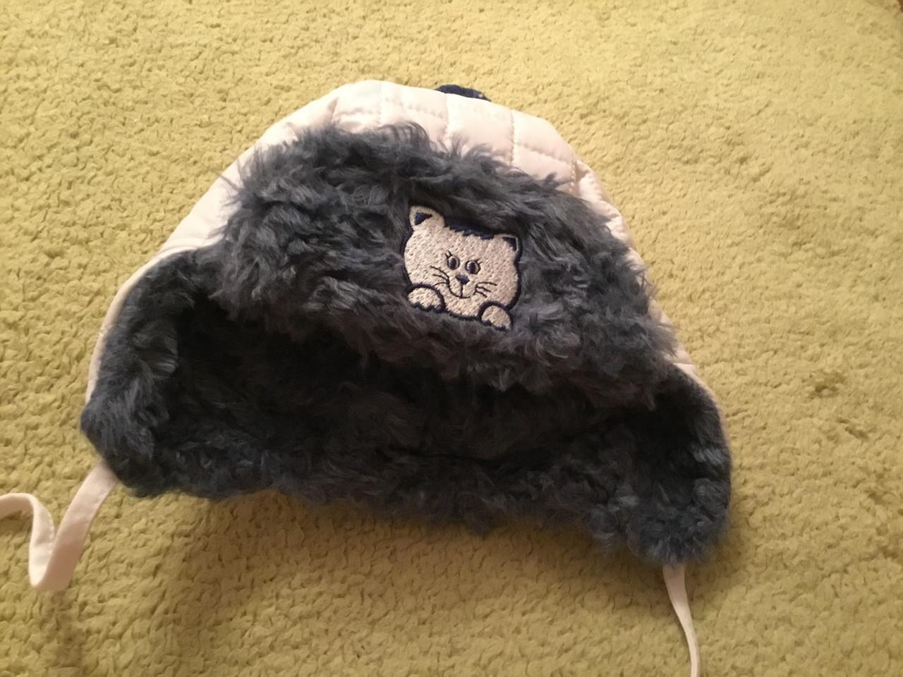 Зимняя шапочка на подкладке