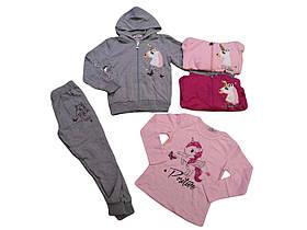 Костюмы для девочек оптом, размеры 4-12 лет, Seagull, арт. CSQ-52129