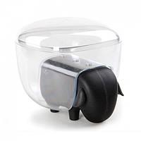 Контейнер для хранения ватных палочек и ватных шариков Sheepshape Cotton Box Qualy (черный)