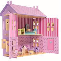 Оригинал. Кукольный Домик деревянный Eichhorn 2497