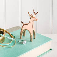 Держатель для колец Anigram Reindeer Umbra (медь), фото 2