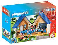 Игровой набор ПлейМобил Снова в Школу PLAYMOBIL Take Along School House