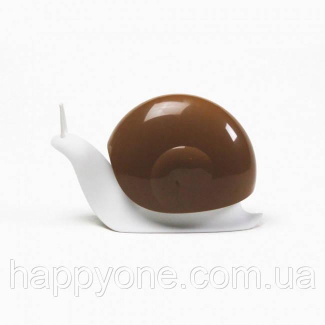 Диспенсер для жидкого мыла Escar Qualy (белый-коричневый)