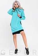 Теплое спортивное платье Gepur 29409