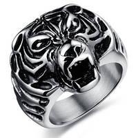 """Стальное мужское кольцо """"Тигр"""", фото 1"""