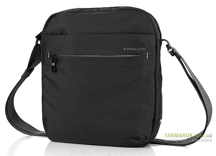 Сумка мужская из нейлона Roncato Land 7304 черного цвета - Интернет-магазин  сумок Yarmarok ( 4a80771af65