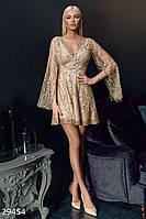 Платье-мини с открытой спинкой Gepur 29454