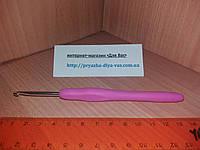 Крючок с прорезиненной ручкой № 3.5